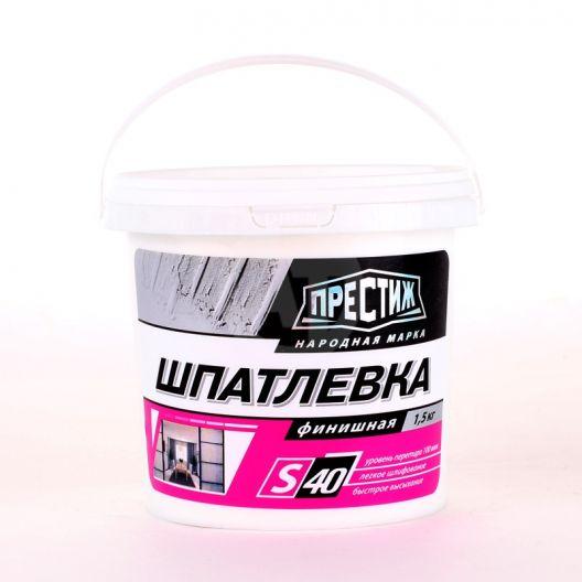 Шпаклевка акрилатная финишная Престиж 1,5 кг., шт.