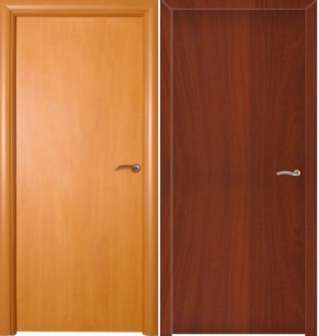 Дверное полотно ПВХ гладкое глухое