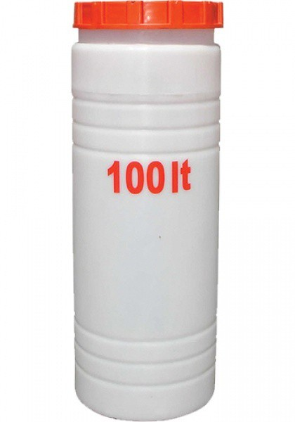 Вертикальная круглая ёмкость выс. 100 л
