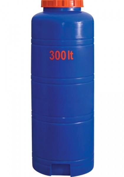 Вертикальная круглая ёмкость выс. 300 л