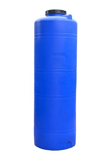 Вертикальная круглая ёмкость выс. 900 л