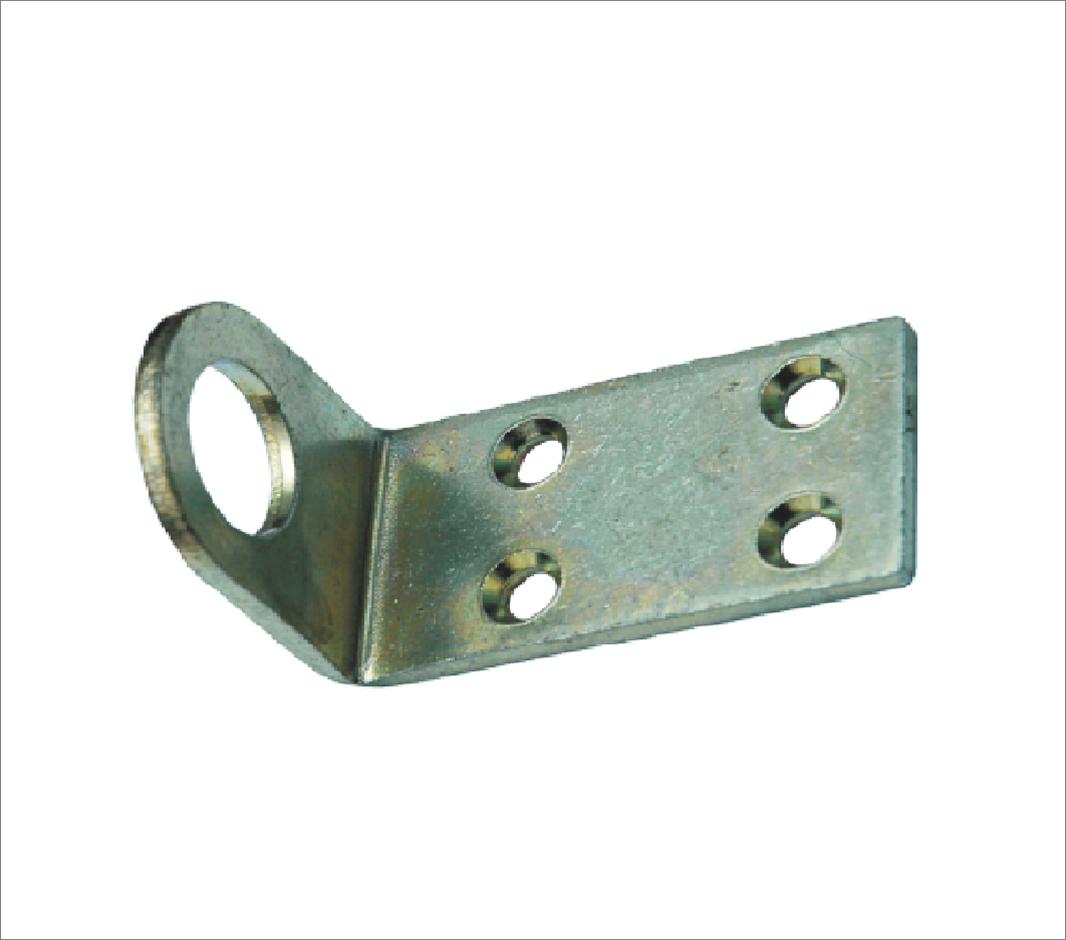 Накладка (проушина) для замка 40*90 Ц гнутая