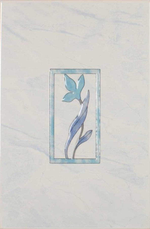 Плитк Венера голубой декор